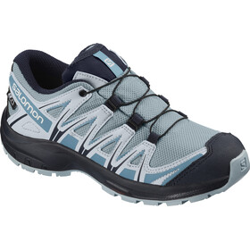 Salomon XA Pro 3D CSWP Shoes Kids cashmere blue/illusion blue/cyan blue